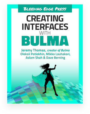 The official Bulma book cover